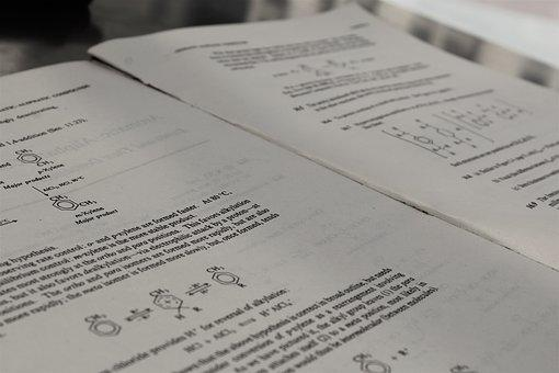 Chemistry, Book, Reading, Ggsipu