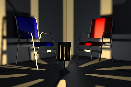 Room, Light, Shadow, Chair, Replacement Lamp