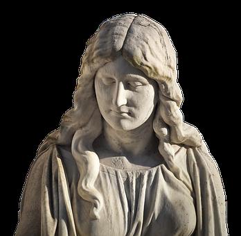 Figure, Woman, White, Sculpture, Statue, Body, Mother