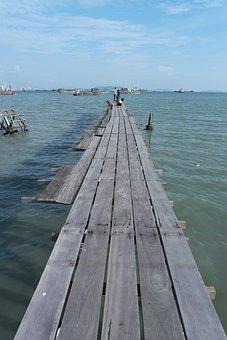 Penang, Sea, Malaysia, Travel, Tourism, Georgetown