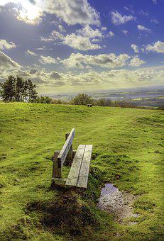 Seat, Open Countryside, Sky, Landscape, Outdoor, Green