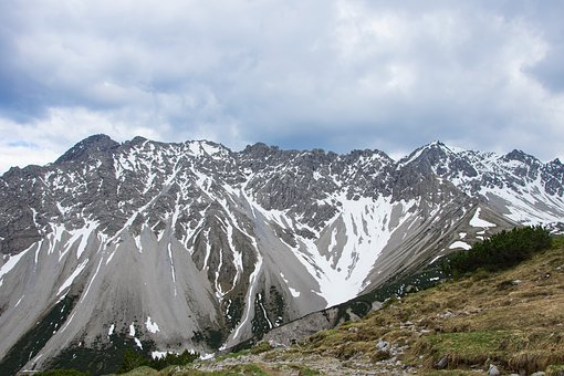 Alps, Snow, Mountains, Inhospitable, Austria, High