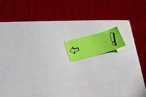 Post It, Note, Sticky Notes, Sticky Note, Block