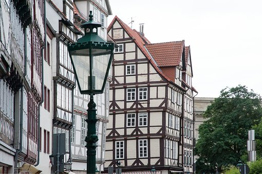 Hanover, Old Town, Truss, Monument, Street Lamp