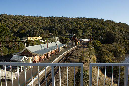 Nsw, Transport, Train, Australia, Travel, Landscape