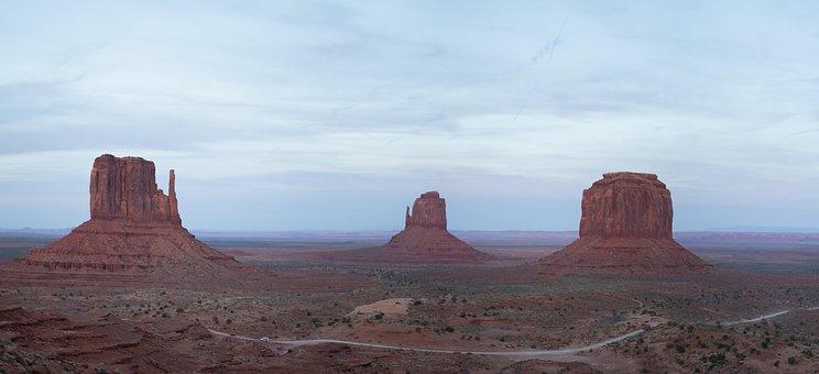 Monument Valley, Usa, Utah, Wild West, Landscape