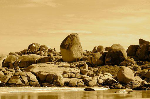 Boulders, Beach South Africa, Nature, Coastline, Africa