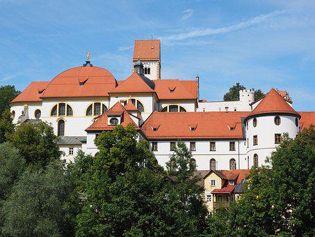 St Mang's Abbey, Füssen, Monastery, Benedictine