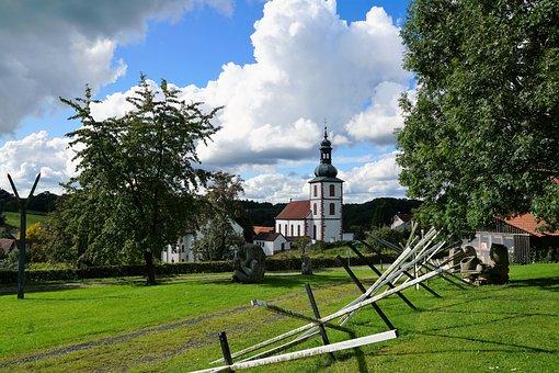 Church, Fulda, Artists Village, Religion, Art, Culture
