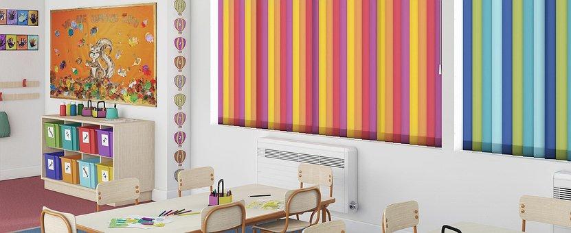 Vertical, Curtain, Decoration, Interior, House, Design