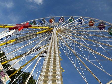 Ferris Wheel, Folk Festival, Year Market, Fairground