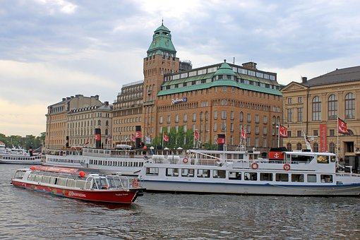Sweden, Stockholm, Old Town, Gamla Stan, Building