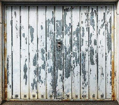 Profile Sheet, Weathered, Garage Door, Goal, Metal Gate