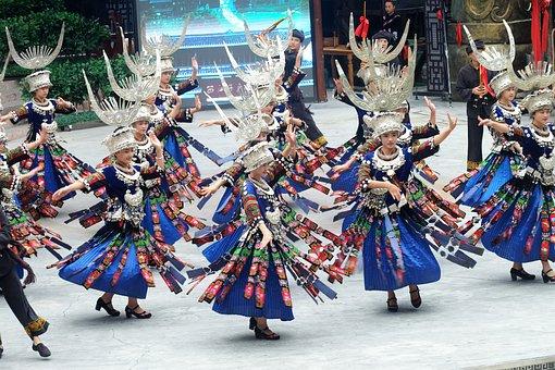 The Beauty Of Guizhou, Guizhou, Hmong, Dance