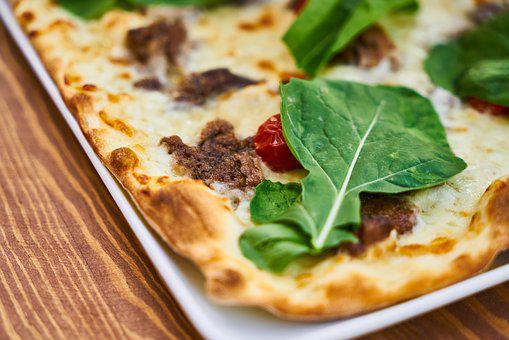 Pizza, Meat, Dough, Hot, Cheese, Restaurant, Food