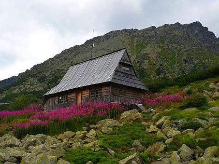 Tatry, Valley Of Five Ponds, Mountains, The High Tatras