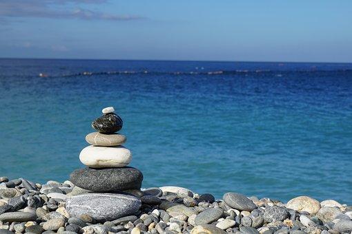 Stone, Build, Rock, Nature, Sky, Pattern, Blue, Temple