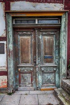 Input, Doors, Wood, Oak, Truss, Old, Middle Ages, Door