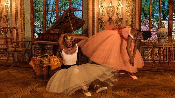 Ballerina, Plan, Ballet, Tutu, Dance, Woman, Show