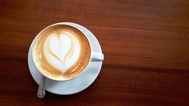 Coffee, Table, Cup, Cappuccino, Morning, Restaurant