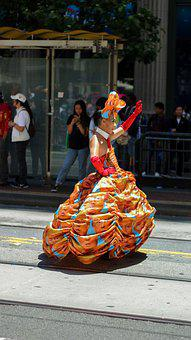 Parade, Transsexual, Trump Dress, Pride, Transgender