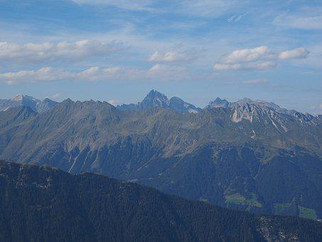 Jaufenspitze, Mountains, View, White Wall, High Tooth