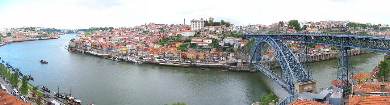 Porto, View, Duero