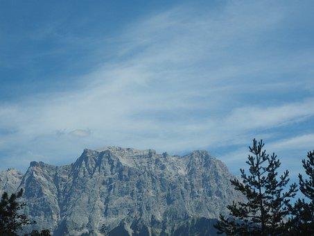 Zugspitze, Zugspitze Massif, Schneefernerkopf