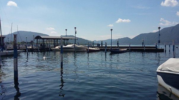 Iseo, Lake, Porto, Boat