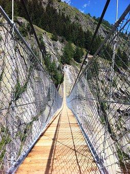 Suspension Bridge, Nature, Landscape, Bridge