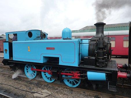 Thomas The Tank Engine, Steam Train, Engine, Railway