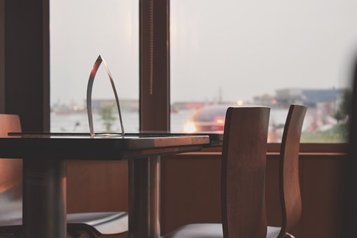 Coffe Table, Fast Food, Table, Chairs, Food, Fast