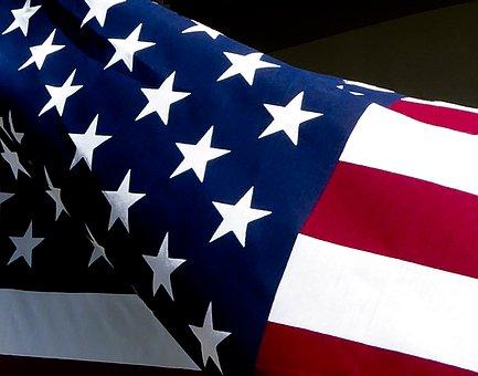 Usa Flag, American Flag, Flag, Red White Blue