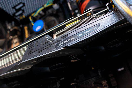 Video Card, Pc, Equipment, Gaming, Technology, Asus