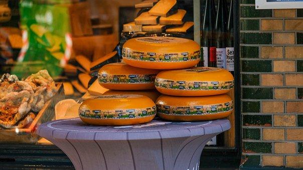 Gouda, Cheese, Amsterdam, Holland, Food, Eat
