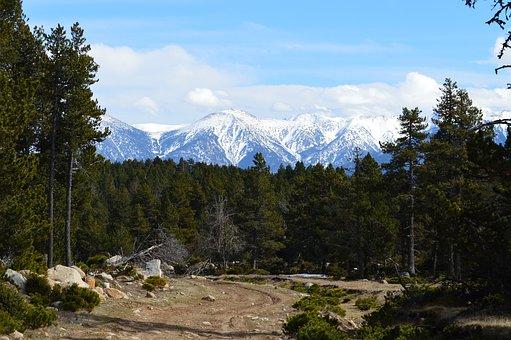 Mountains, Summits, Nature, Landscape, Snow, France
