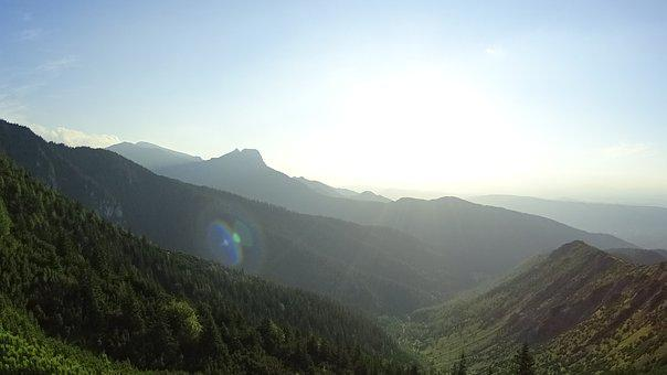 Mountains, Tops, Tatry, The Fog, Landscape, Top View