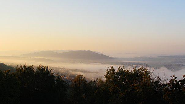 Mountains, Rising Fog, Mountain World, Landscapes