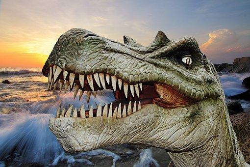 Dinosaur, Dino, Giant Lizard, Prehistoric Times, T Rex