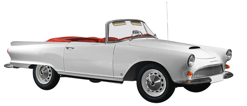 Isolated, Auto Union, Dkw, 1000sp, Roadster