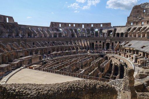 Colosseum, Ancient Rome, Gladiators, Romans
