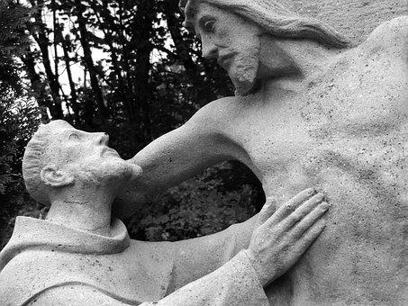 Religion, Statue, Sculpture, Jesus, Junker Jörg