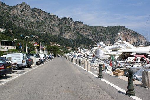 South Of France, Marina, Monaco, Embankment