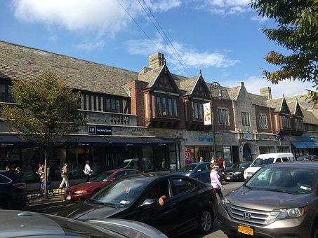 Jackson Heights, Nyc, Shops, City, Lifestyle, Street