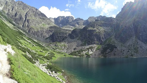 Tatry, Mountains, Pond, Tourism, Landscape, Poland