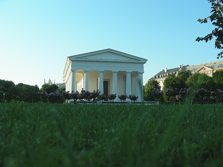 Vienna, Theseus Temple, People's Garden, Park, Austria
