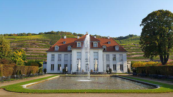 Schloss Wackerbarth, Park, Water Games