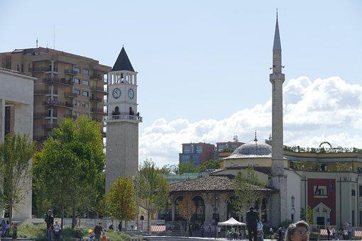 Tirana, Albania, 500, Yers, Old, Mosque