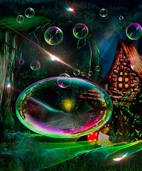 Newborn Background, Fantasy Art Backdrop