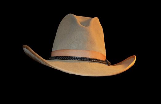 Cowboy Hat, Hat, Hutkrempe, Cowboy, Western, Headwear